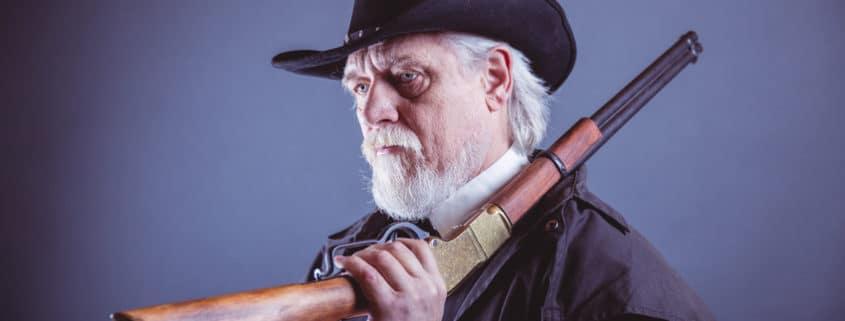 Cowboy mit schwarzem Hut als Symbol für Black Hat SEO