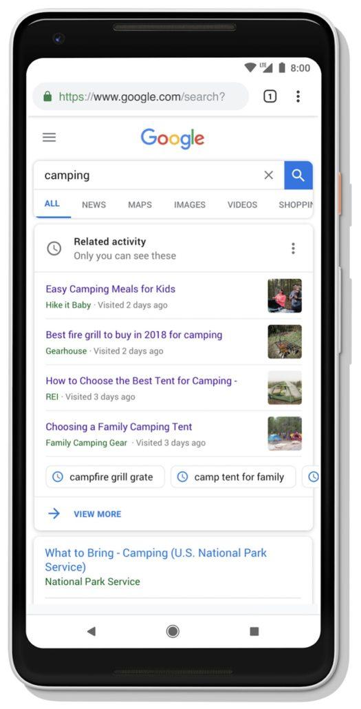 Google Journey Suche