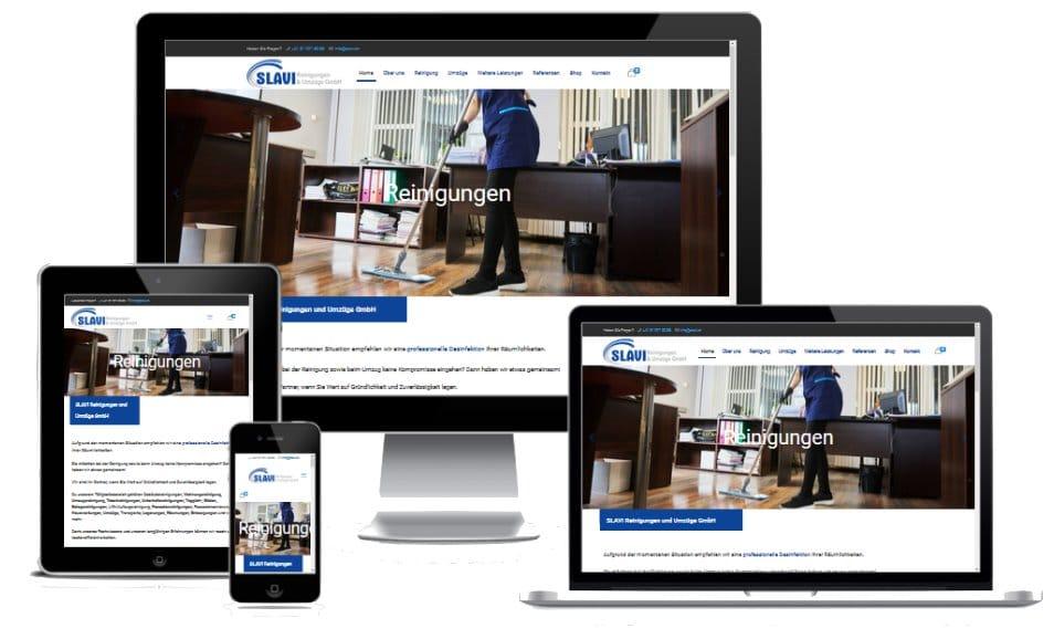 slavi.ch - Referenzen Webdesign und SEO